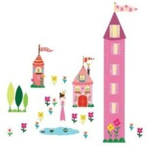 3/$15 Sale Wallies Princess Wall Stickers